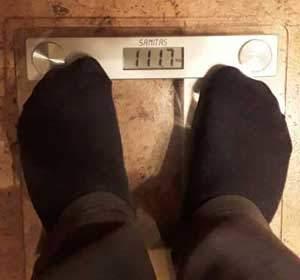 marcus gewicht vorher